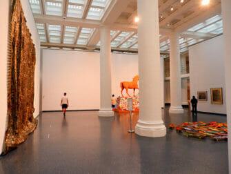 纽约布鲁克林博物馆 - 博物馆内部