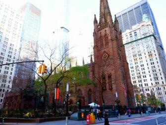 纽约汉密尔顿之旅 - 三一教堂