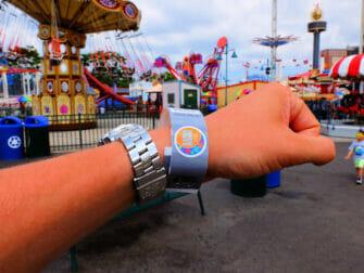 康尼岛月神公园 - 入场腕带