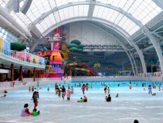 纽约附近的American Dream Mall - 梦工厂水上乐园