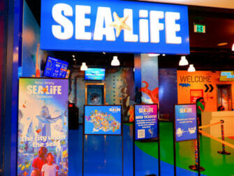 纽约附近的American Dream Mall - SEA LIFE水族馆