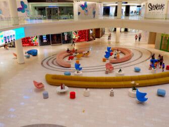 纽约附近的American Dream Mall - 商店