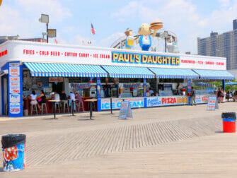 康尼岛Deno's摩天轮乐园 - 小吃摊位