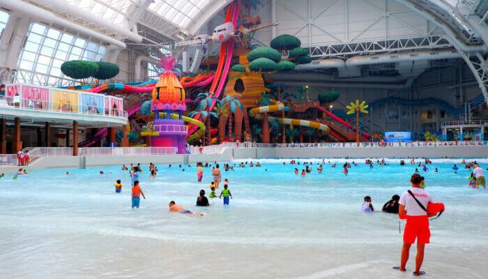 纽约附近的梦工厂水上乐园门票 - 泳池