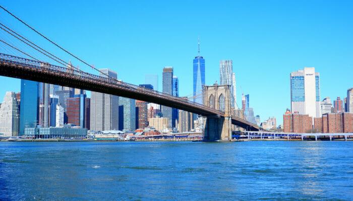 纽约曼哈顿 - 布鲁克林大桥
