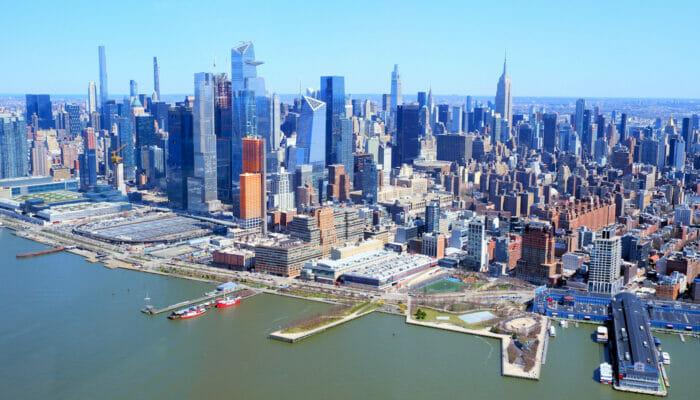 纽约曼哈顿 - 天际线