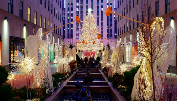 洛克菲勒中心圣诞树点灯仪式 - 仪式