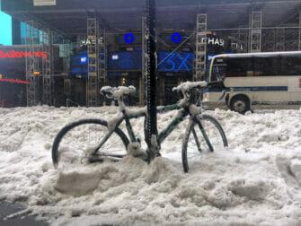 纽约的雪季 - 交通